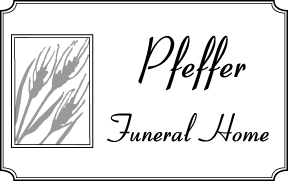 Pfeffer Funeral Home Web Ad